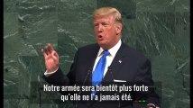 """""""Détruire totalement la Corée du Nord"""" : Donald Trump guerrier lors de son 1er discours devant l'ONU"""