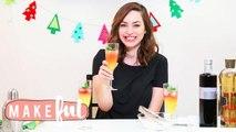 Ombré Holiday Cocktail | 12 DIYs of Christmas