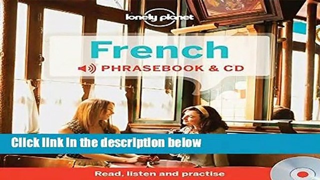 Library  Lonely Planet French Phrasebook and Audio CD - Lonely Planet