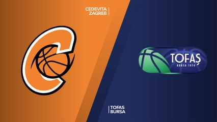 7Days EuroCup Highlights Regular Season, Round 10: Cedevita 92-96 Tofas
