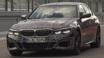 The new BMW M340i xDrive US (Camouflaged Prototype). Design Exterior