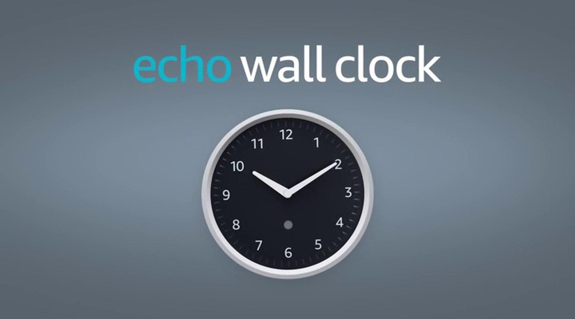 Amazon Echo Wall Clock, el reloj de pared de Amazon... sin Alexa