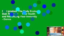 Best product  The Body Ecology Diet: Recovering Your Health and Rebuilding Your Immunity - Donna