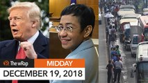 International orgs hold fundraising for Rappler, news groups under siege | Midday wRap