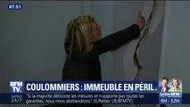 À Coulommiers, ils vivent dans un immeuble plein de fissures et demandent à être reloger immédiatement