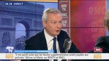 """Bruno Le Maire voit en ce moment des partis politiques """"perdre leur sang-froid"""", comme """"le parti socialiste"""""""
