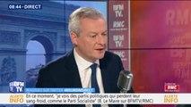 "Bruno Le Maire : La taxe Gafa ""rapportera 500 millions d'euros, nous allons taxer les bénéfices"""