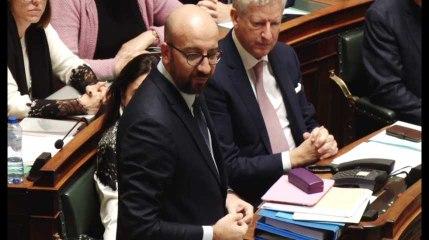 Charles Michel présente sa démission