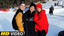 Selena Gomez Enjoys A Snowy Vacation After Rehab Treatment