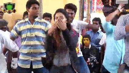 suntv சீரியல் நடித்த நடிகை Dasara Attam 2015 Disco Junior actress KALI ATTAM  06
