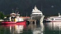 Mega yat 'Lady E' Marmaris Limanı'na bağlandı - MUĞLA