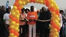 Sport: Randonnée pédestre l'étape de Yopougon; lancement de la randonnée par le ministre des sports ivoiriens