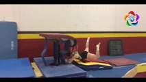 Tiffany's First Gymnastics Competition   EPIC FAIL! - video