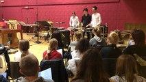 Concert de percussions par le Trio Xénakis