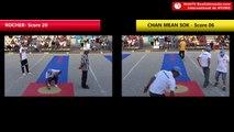 Tir de précision Nyons 2018 : Demi-finale ROCHER vs SOK