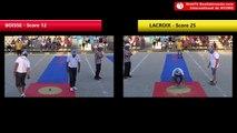 Tir de précision Nyons 2018 : Demi-finale BOISSE vs LACROIX