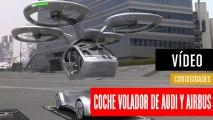 El coche volador autónomo de Audi y Airbus es un dron gigante