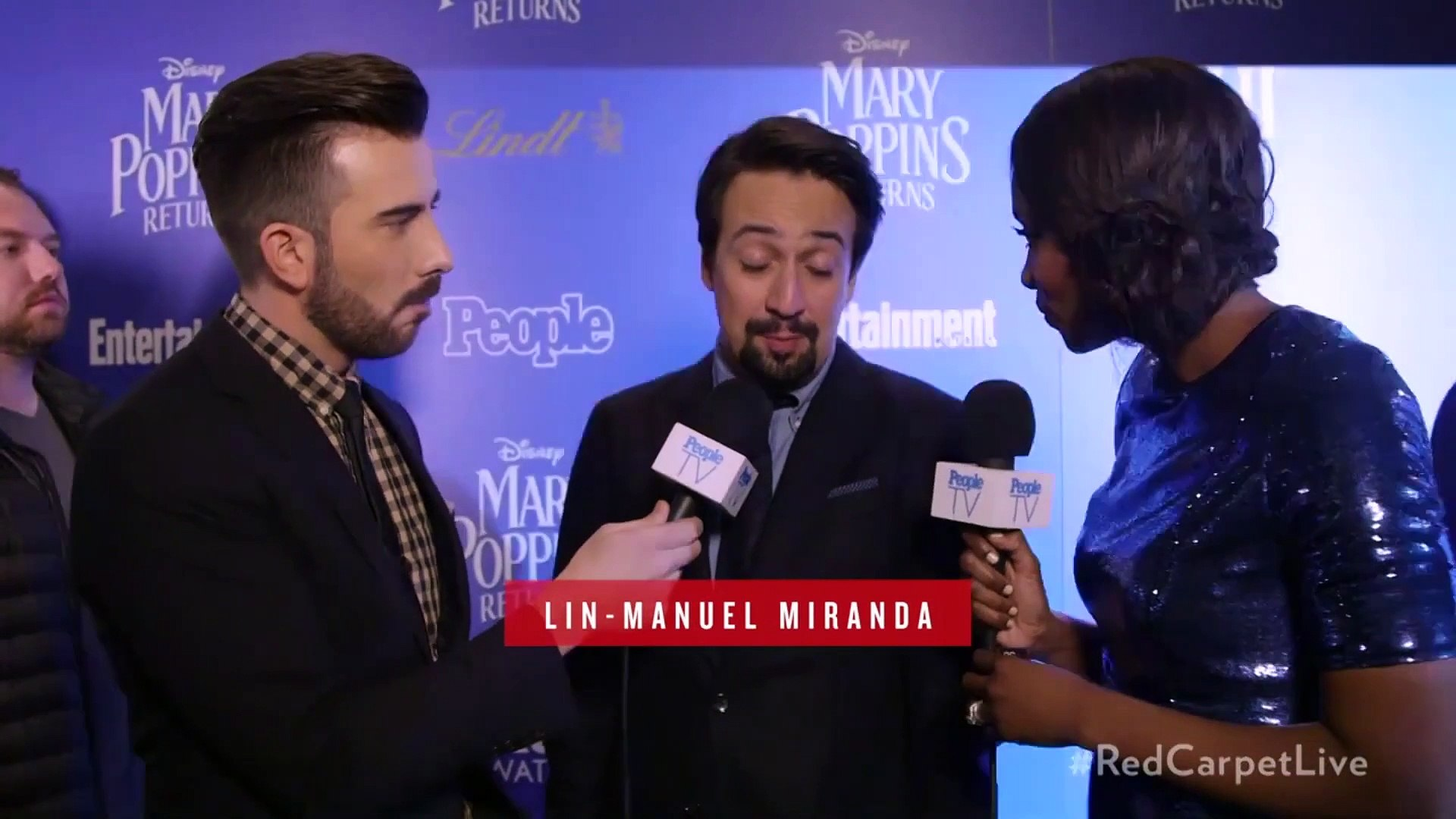 Lin-Manuel Miranda Discusses Excitement About Mary Poppins Returns | PeopleTV | Entertainment Weekly