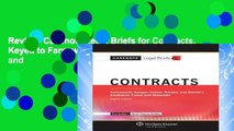 Review  Casenote Legal Briefs for Contracts, Keyed to Farnsworth, Sanger, Cohen, Brooks, and