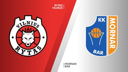 7Days EuroCup Highlights Regular Season, Round 10: Rytas 71-67 Mornar