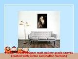 Canvas Culture  White Horse Canvas Art Print Box Framed Picture 2 Sepia 120 x 80cm