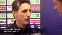 Après le match Amiens SC - O. Lyonnais Christophe Pélissier