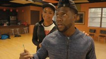 'Night School': Behind the Scenes of Tiffany Haddish and Kevin Hart's Dance Battle (Exclusive)