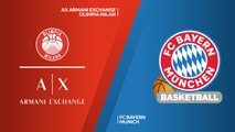 AX Armani Exchange Olimpia Milan - FC Bayern Munich Highlights | Turkish Airlines EuroLeague RS Round 13