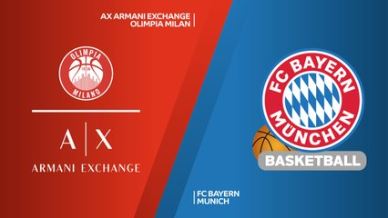 EuroLeague 2018-19 Highlights Regular Season Round 13 video: AX Milan 78-80 Bayern
