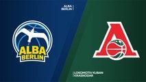 ALBA Berlin - Lokomotiv Kuban Krasnodar Highlights | 7DAYS EuroCup, RS Round 10