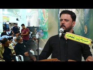 الشاعر مصطفى حرب || مهرجان اولئك الرجال الرجال || حسينية وليد الكعبة