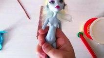 Play Doh Monster High Dresses Up Design ❤ Lagoona Blue Doll #5 [Oyun Hamuru Kıyafet Giydirme]