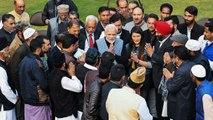 PM Modi meets newly elected village headmen from Jammu and Kashmir   OneIndia News
