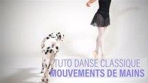 Tuto danse classique : les mouvements de main