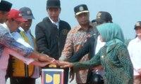 Presiden Joko Widodo Resmikan 7 Ruas Tol Trans Jawa