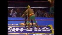 Oro/Plata/Bronce vs Guerrero del Futuro/Damian el Guerrero/Guerrero Maya (CMLL April 12th, 1992)