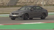 BMW M340i xDrive US (Camouflaged Prototype) Racetrack Driving Video