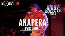 "AKAPERA : ""Personnel"" (Live @Mouv' Booster Sacem)"