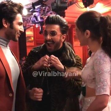 Watch: Ranveer Singh plays cupid, introduces Kartik Aryan to Sarah Ali Khan