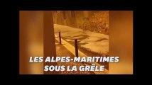 Les Alpes-Maritimes frappées par un violent épisode de grêle