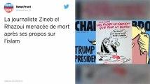 Menacée de mort pour des propos sur l'Islam, Zineb El Rhazoui, l'ancienne journaliste de Charlie Hebdo, porte plainte.