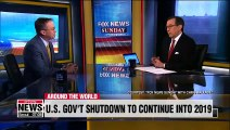 Top Trump aide says U.S. government shutdown could extend into January