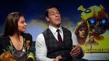 BUMBLEBEE: Hailee Steinfeld & John Cena re-imagined as cars