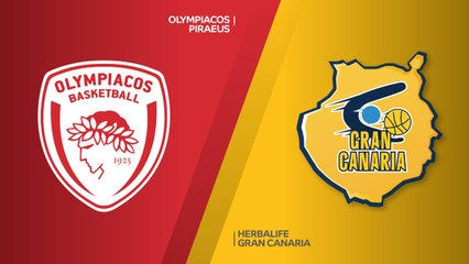 EuroLeague 2018-19 Highlights Regular Season Round 14 video: Olympiacos 98-77 G. Canaria