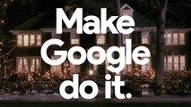 """Home Alone again """"28 years later"""" with the Google Assistant / Maman, j'ai raté l'avion encore une fois """"28 ans plus tard"""" avec l'assistant Google (Pub Xmas / Christmas / Noël Tv Version 2018) HD - HQ - 16.9"""