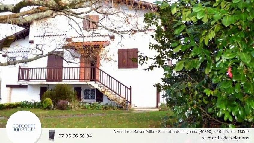 A vendre - Maison/villa - St martin de seignanx (40390) - 10 pièces - 180m²