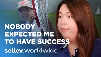 Golfer Shanshan Feng / Nobody expected me to have success