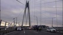 Yavuz Sultan Selim Köprüsü'nde trafik kazası - İSTANBUL