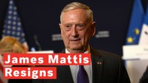 US Defense Secretary James Mattis Resigns