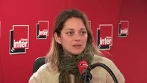 """Marion Cotillard, actrice, engagée dans """"l'Affaire du siècle"""", action en justice d'ONG contre l'Etat français pour inaction face aux changements climatiques : """"On ne peut pas demander aux gens de changer leur manière de consommer si on ne les aide pas"""""""